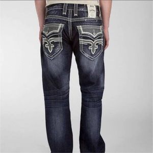 Rock Revival Dino Relaxed Straight Jean Buckle 33